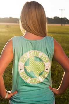 BEST STATE EVER tank - TEXAS (also coming soon in other southern states) WWW.JADELYNNBROOKE.COM