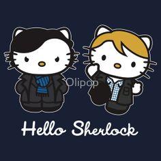 Hello Kitty Sherlock and John!