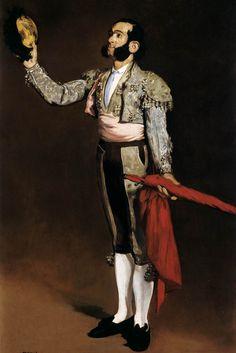 A Matador (Matador Saluting). Manet. 1866-1867. Oil on canvas. 171 x 113 cm. Metropolitan Museum of Art. New York.