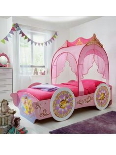 Disney Princess Single Carriage Bed Visit:Onlineone.co.uk