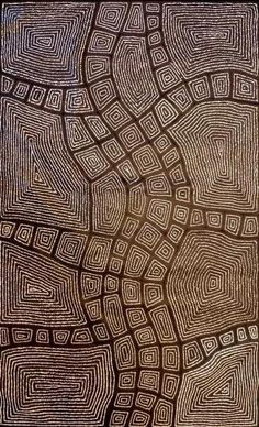 Aboriginal Art Galleries - Thomas Tjapaltjarri - Artwork-Detail: Maybe something for 3D Printer Chat?