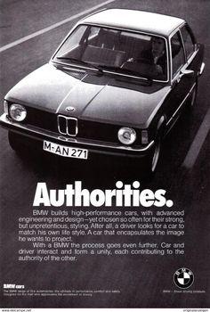 Original-Werbung/ Anzeige (USA) 1976 - BMW CARS - Ca. 160 X 230 Mm - Werbung