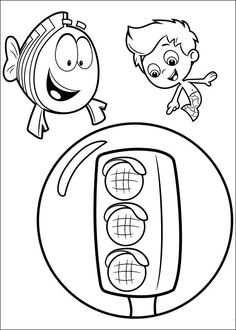 bubble guppies coloring pages for kids 21