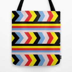 Pop Art Tote Bag by Floorb - $22.00