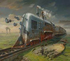 Steampunk Tendencies | Steam Train - Jarosław Jaśnikowski