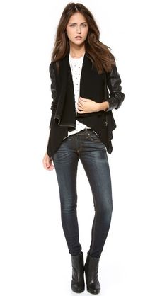 Blank Denim Vegan Leather & Ponte Jacket | SHOPBOP | Get up to 9.2% Cashback when you shop at SHOPBOP as a DubLi member! Not a member? Sign up for FREE today! www.downrightdealz.net