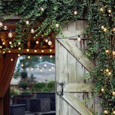 Pretty outdoor lights