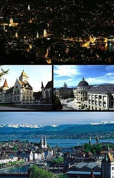 """""""Zurich is the largest city in Switzerland and the capital of the canton of Zurich. It is located in central Switzerland at the northwestern tip of Lake Zurich."""""""