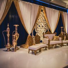 A Boston Massachusetts Based India Wedding Decor Company Wedding Stage Backdrop, Reception Backdrop, Wedding Stage Decorations, Wedding Mandap, Engagement Decorations, Wedding Draping, Wedding Receptions, Wedding Dress, Table Decorations