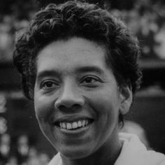Tennis great Althea Gibson was the first African-American ever invited to play at Wimbledon. She broke barriers for black players in golf too.