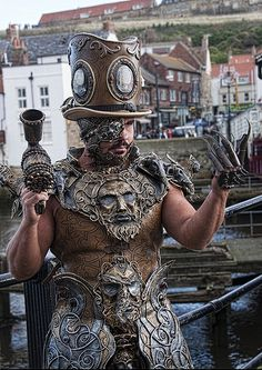 Ten Incredible Suits of Steampunk Armor - 1-800-RECYCLING