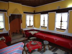 Old bulgarian house New Homes, Rumpelstiltskin, Arabian Horses, Traditional, Country, Architecture, Folklore, Interior, Vibrant Colors