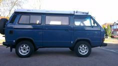 Image may have been reduced in size. Click image to view fullscreen. Vw T3 Syncro, Volkswagen Westfalia, Vw Bus T3, Vw Camper, Jeeps, Motorhome, Buses, 4x4, Toyota