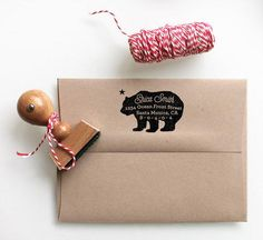 Celebrate a move to a new address with a cute custom stamp. #etsy
