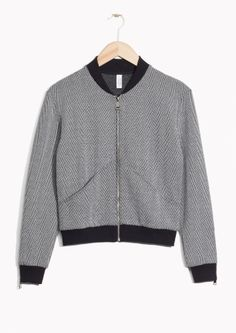 & Other Stories   Bomber Cardigan