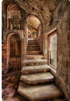 Time for Breakfast Time for Breakfast Fonthill Gallery Stairs to Breakfast Ro karl graf Fl Beautiful Architecture, Beautiful Buildings, Interior Architecture, Beautiful Homes, Beautiful Places, Interior Design, Stairs Architecture, Gothic Architecture, Abandoned Houses