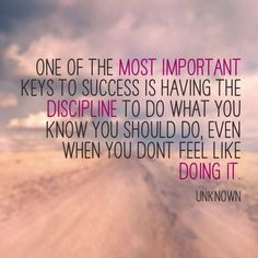 Push through the hard times, and you'll reap the rewards! :)