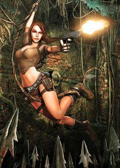 Tomb Raider: Legend •Ricky Trager