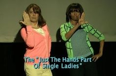 """Michelle Obama And Jimmy Fallon's """"Evolution Of Mom Dancing"""""""