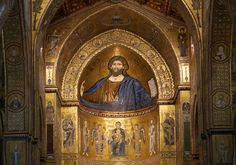 The Christ Pantokrator - Cathedral-Basilica of Monreale - Palermo