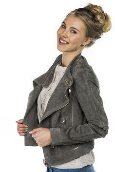 Liu Jo Jeans Leather Jacket Times Square, zenzero 375,00 € www.fashionstore.fi