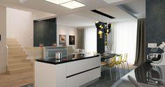 PROIECT CD-1045 « Firmă de construcții case Decor, House Exterior, Modern House Exterior, House Architecture Design, Modern Style House Plans, Mediterranean Style Homes, Home Decor, Modern Family House, House Layout Plans