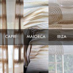 Aria d'estate, voglia di mare: Capri, Maiorca od Ibiza? Enjoy your trip!  Viaggia con noi con i tessuti della #Collezione #Movida.  #tessuti #interiordesign #tendaggi #textile #textiles #fabric #homedecor #homedesign #hometextile #decoration Visita il nostro sito www.ctasrl.com e scarica le nostre brochure su: http://bit.ly/1nhrLQM
