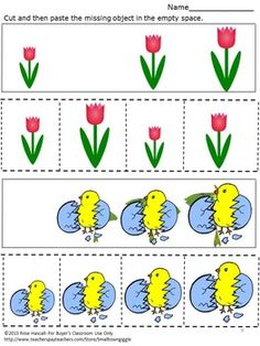 Easter: Sorting By Size Easter Math Worksheets. Sorting, comparing sizes and identifying patterns help preschool students develop strong math skill. With this Sorting By Size Easter Math Worksheet set students can practice all of these skills.