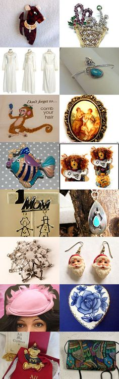TeamLoveGroup CIJ Flash Pro 3 Treasury Christmas in July by Nancy on Etsy--Pinned with TreasuryPin.com