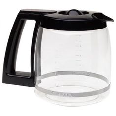 Cuisinart DCC-1200PRC 12-Cup Replacement Carafe-Black  byCuisinart  4.0 out of 5 starsSee all reviews(233 customer reviews) | Like (31)  List Price:$33.00  Price:$12.09