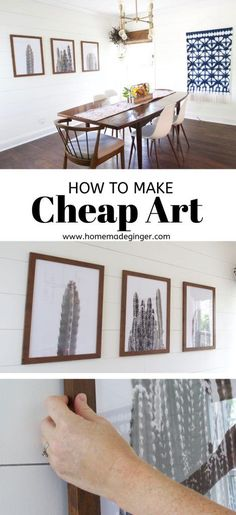 How To Make Cheap Art - Homemade Ginger