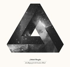 Penrose Triangle, by Esher (the Penrose theory. Graphic Design Typography, Graphic Design Illustration, Magritte, Penrose Triangle, Cloud Tattoo, Cover Tattoo, To Infinity And Beyond, Photo Projects, Beauty Art