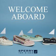 Sail away, sail away, sail away! #schuh #sperry. So want a pair!!