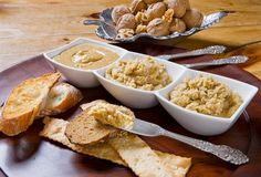 Easy walnut butter recipe that is perfect as a snack for dipping veggies and crackers or for mealtime in a wrap.