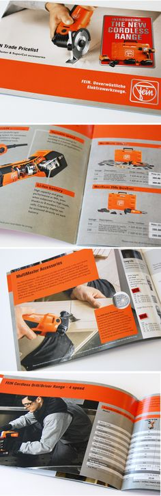 Product catalogue for Fein