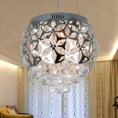 free shipping Bohemia lamps crystal ball pendant light