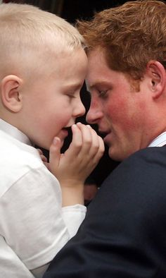 Prince Harry - WellChild Awards  SEPT 2009 - seems to be following in his mom's footsteps..