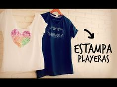 Estampa tus playeras, fabulosa idea!