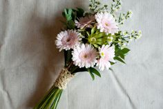 Another DIY bouquet idea. Great money saver, doing your own - though you may have more limited floral choices.