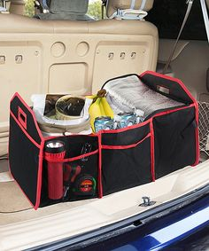 $11 ,gift  This Trunk Organizer & Cooler by home basics is perfect! #zulilyfinds