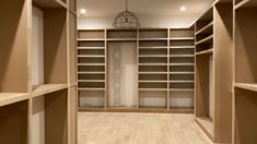 Humongous master closet 🤩 This build out took 2 days of work with 28 sheets of MDF and 400 LF of poplar Walk In Closet Design, Bedroom Closet Design, Master Bedroom Closet, Closet Designs, Master Bathroom, Master Bedroom Layout, Bedroom Layouts, Dispositions Chambre, Armoire
