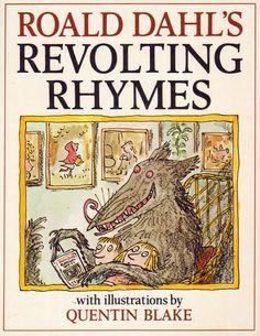 Vintage Kids' Books My Kid Loves: Roald Dahl's Revolting Rhymes - illustrations by Quentin Blake Quentin Blake, Roald Dahl Revolting Rhymes, Roald Dahl Activities, Vintage Children's Books, Vintage Kids, Forever Book, Bookshelves Kids, Book Challenge, Any Book