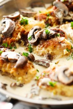 A delicious batteredchicken that is first pan-fried then baked and topped with a creamy mushroom gravy. This is a true restaurant quality dinner that will quickly become a new family favorite! I have said it before, and I will say it again, mushrooms are HANDS DOWN my favorite vegetable! Whether they are stuffed or sautéed, …
