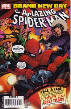 Amazing spider-Man 563:   So Spider-Man Walks Into A Bar AND...