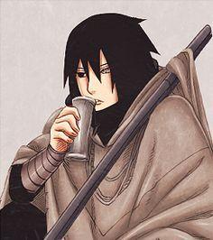Sasuke's The Last + Adult designs | second cap credit: (x)