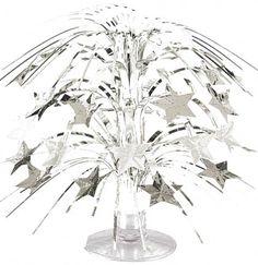 Silver Sparkle Party Centerpiece