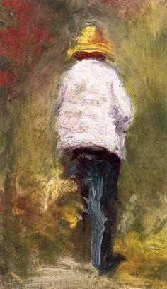 Vincent van Gogh se rendant au motif à Asnières Émile Bernard - 1887