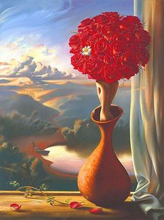 One of my favorite artists Vladimir Kush, his pieces are amazing!