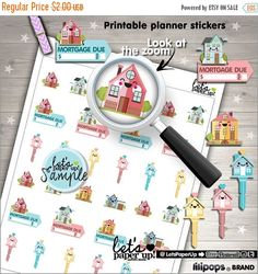 60%OFF - Mortgage Stickers, Printable Planner Stickers, Mortgage Due Stickers, Payment Due, Kawaii Stickers, Planner Accessories, Mortgage P