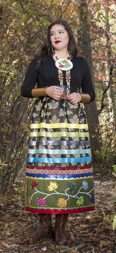 Great Lakes Woodland Skirt by Lavender Hunt